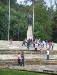 El ultimo vistazo a la estatua de Bolivar y de regreso a Bogota. El próximo año nos espera Santander!!!!